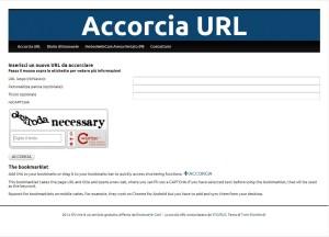 Accorcia URL