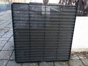 filtro aria condizionata sporco