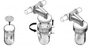rimontaggio filtro anticalcare