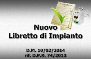 libretto impianto DM10febbraio2014