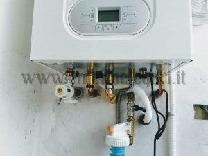 Caldaia Radiant, filtro magnetico e dosatore polifosfati